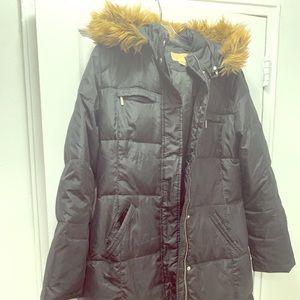 Michael Kors Long Puffy Jacket (size L)